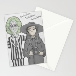 The Ghost with the Most Stationery Cards