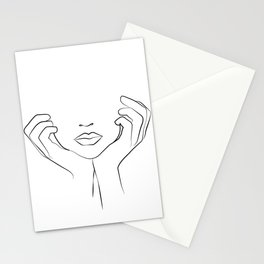 Thinking of Him  Stationery Cards