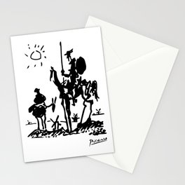 Pablo Picasso Don Quixote 1955 Artwork Shirt, Reproduction Stationery Cards