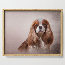 Dog breed Cavalier King Charles Spaniel Serving Tray