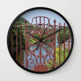 Ironbridge ironwork Wall Clock