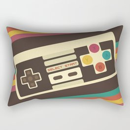 Retro Video Game 2 Rectangular Pillow