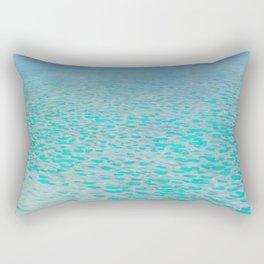 "Gustav Klimt ""On Lake Attersee"" Rectangular Pillow"