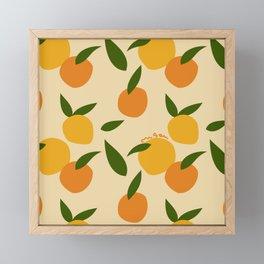 Mangoes in autumn Framed Mini Art Print