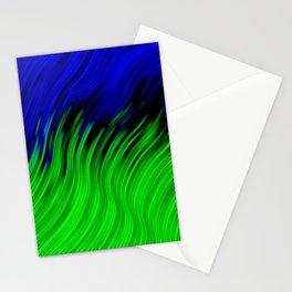 stripes wave pattern 2 with lines vtgi Stationery Cards