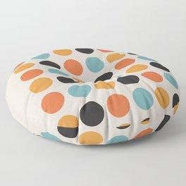 Bauhaus dots Floor Pillow