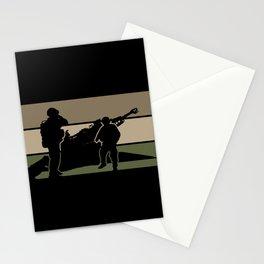 Field Artillery Stationery Cards