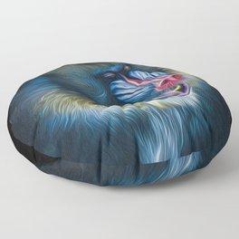 Mister Mandrill Floor Pillow