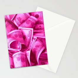 Pink Barbie Benjamins Stationery Cards
