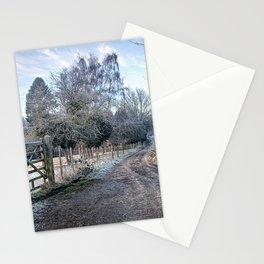Frosty Lane Stationery Cards
