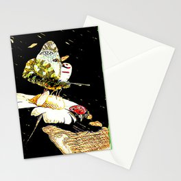 Insect Models: A Butterfly and a Ladybug 01-01 Stationery Cards