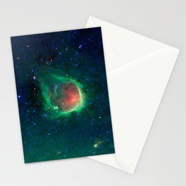 434. A Green Ring Fit for a Superhero Stationery Cards