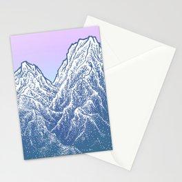 """遠望 series -""""Valley"""" - Linocut Stationery Cards"""