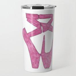 Ballet Slippers Travel Mug