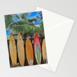 Polynesian Surfboards Stationery Cards
