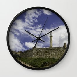 Victor in the sky Wall Clock