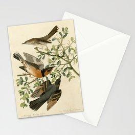 369 I. Mountain Mocking bird - 2. Varied Thrush17 Stationery Cards