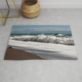Magic Waves on the Isle of Sicily Rug