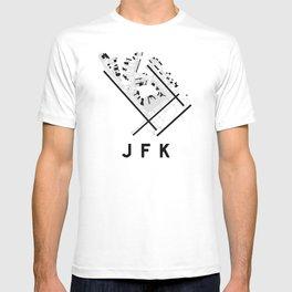 JFK Airport Diagram T-shirt