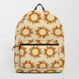 Art Deco Starburst Backpack