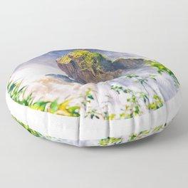 Rock in the falls Floor Pillow