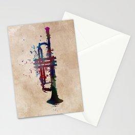 trumpet art #trumpet #music Stationery Cards