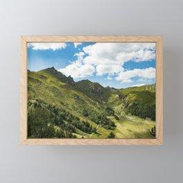 Breathing Framed Mini Art Print