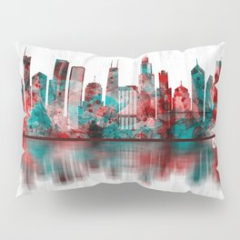 Chicago Illinois Skyline Pillow Sham