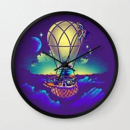 Light Flight Wall Clock
