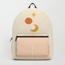 Abstraction_NEW_SUN_MOON_STAR_LINE_POP_ART_M1118A Backpack