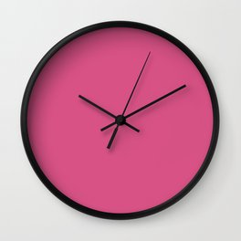 Simply Solid - Mystic Pink Wall Clock