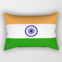 India: Indian Flag Rectangular Pillow