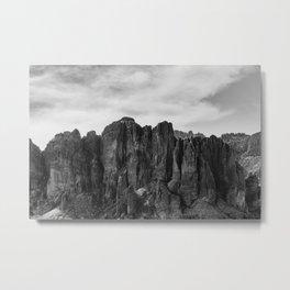 Superstition Mountains - Arizona Metal Print