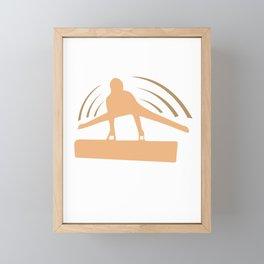 I Am My Own Fidget Spinner Gymnastics Framed Mini Art Print