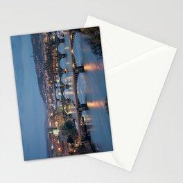 Prague Cityscape Stationery Cards