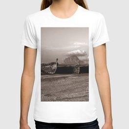 "Abandoned Sound of Tonnara di Bonagio ""Vacancy"" zine T-shirt"
