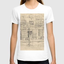 New York Street Scene T-shirt