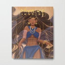 Anitun Tabu Metal Print