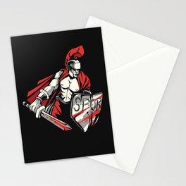 Roman Empire Warrior Stationery Cards