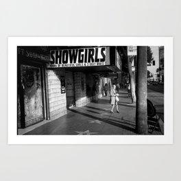 OG show girl Art Print