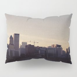 Portland at Dusk Pillow Sham