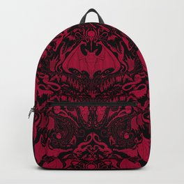 Bats and Beasts - Blood Red Backpack