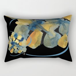 Atom Flowers #32 Rectangular Pillow