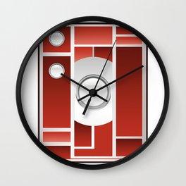 Art Deco Camera Wall Clock