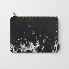 Black Marble #8 #decor #art #society6 Carry-All Pouch