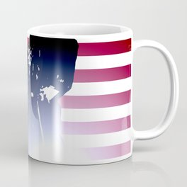 Welder: American Flag Coffee Mug