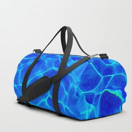Blue Water Abstract Sporttaschen