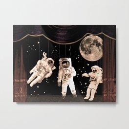 NASA [Astronaut] Puppets Metal Print