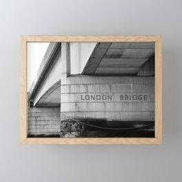 London Bridge Framed Mini Art Print