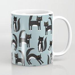 Black and White Cats Coffee Mug